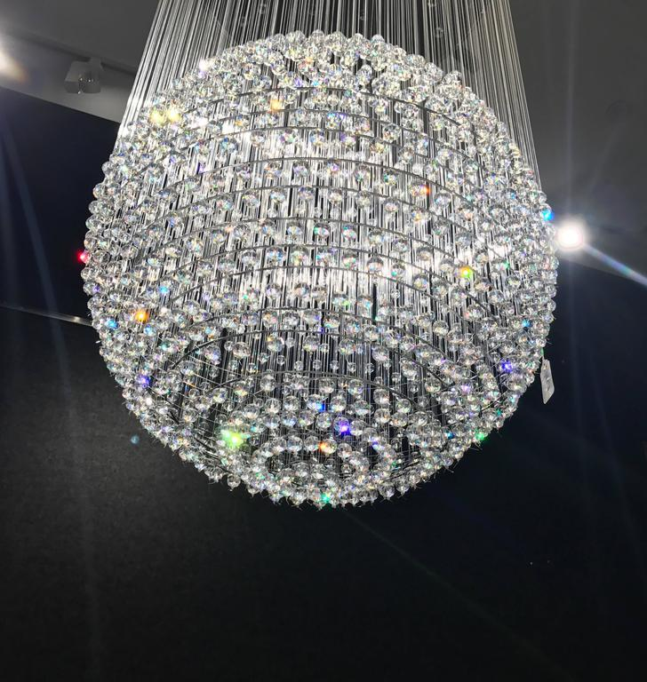 Tom Dixon Swarovski Crystal Palace Chandelier For Sale 4