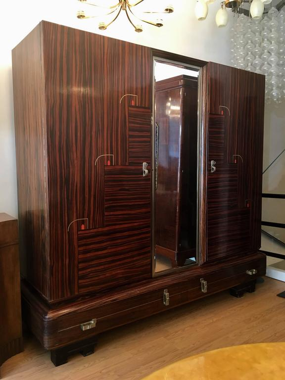 De coene 1930s belgian art deco cabinet wardrobe for sale for 1930s kitchen cabinets for sale