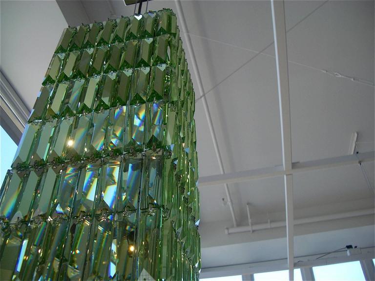Modern Swarovski Crystal Palace Chandelier For Sale