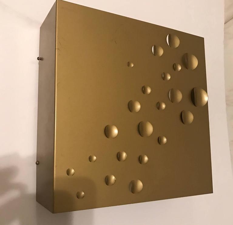 RAAK Rain Drops Dutch 1960s Wall Light For Sale 1