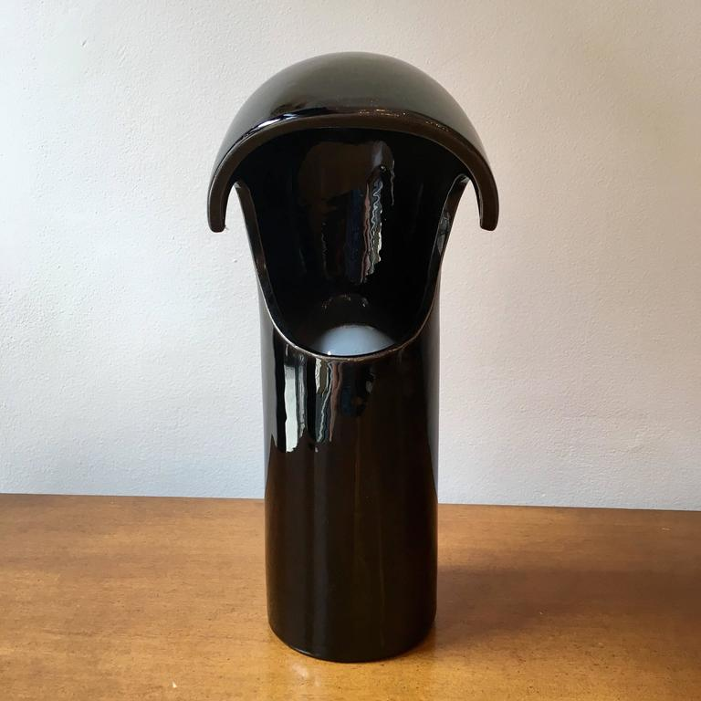 Space Age Italian 1960s Ceramic Table Lamp 2