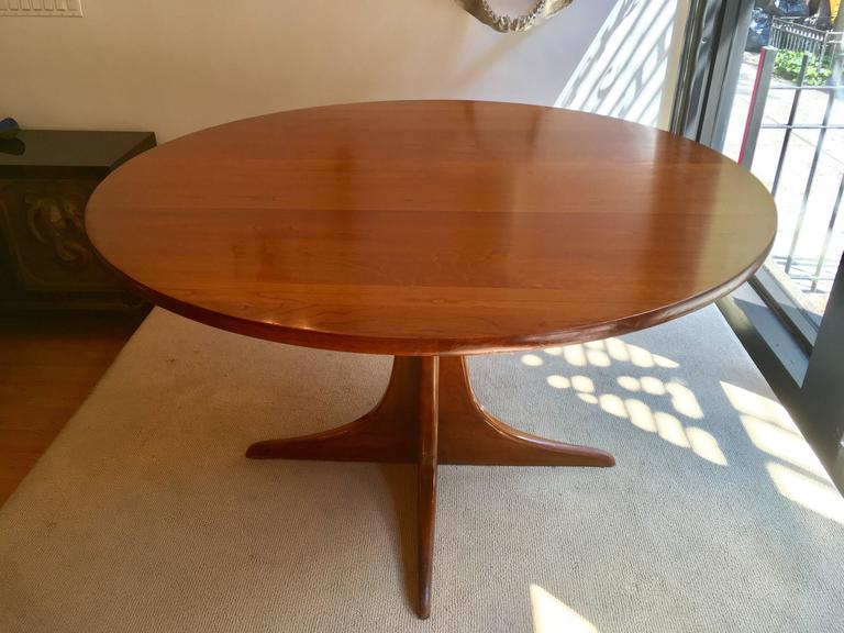 American Heywood Wakefield Cliff House, 1960s Dining Table For Sale