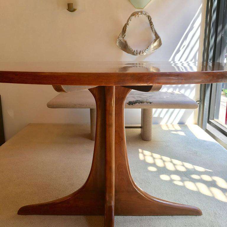 Mid-20th Century Heywood Wakefield Cliff House, 1960s Dining Table For Sale