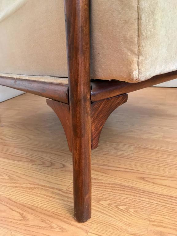 Gebruder Thonet Model 6541 Wing Chair For Sale 1