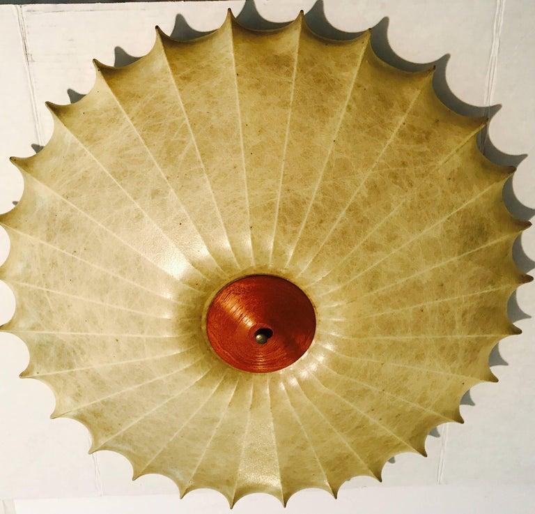 Mid-20th Century Achille Castiglioni 1960s Italian Mid-Century Modern Sculptural Light  For Sale