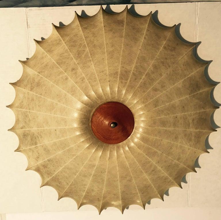 Achille Castiglioni 1960s Italian Mid-Century Modern Sculptural Light  For Sale 5