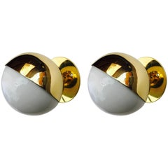 Pair of Vilhelm Lauritzen Radiohaus Wall Lights Bauhaus