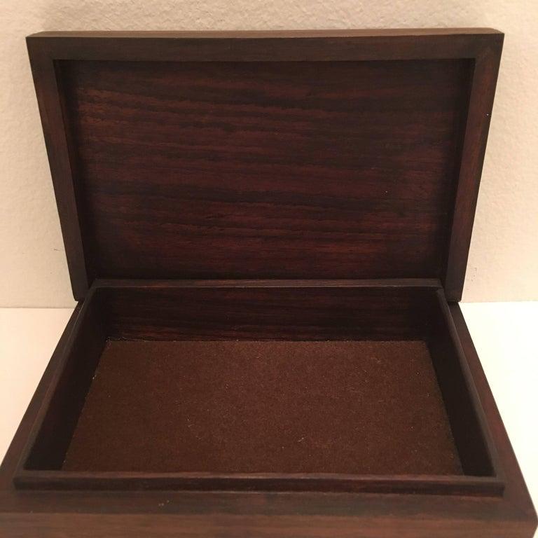 Mid-20th Century Studio Del Campo 1960s Enamel Box For Sale