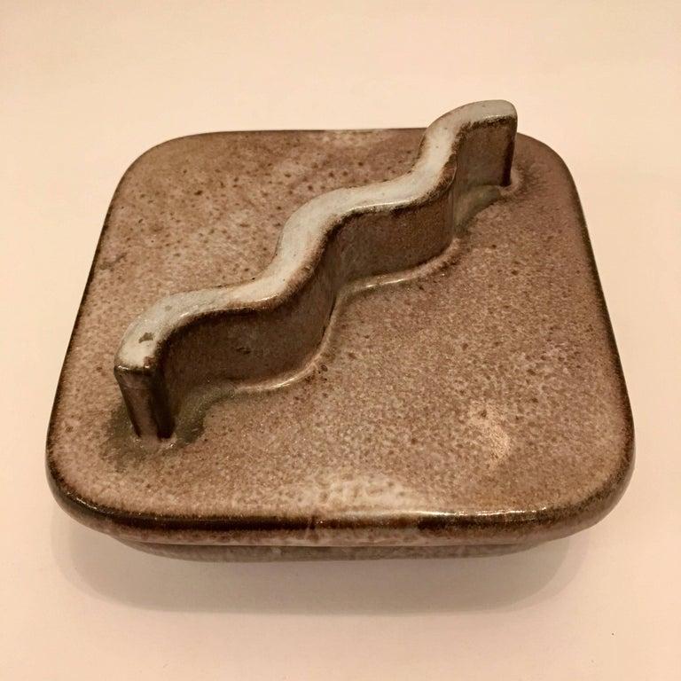 A wonderful decorative ceramic box designed by Lee Rosen for Design Technics.