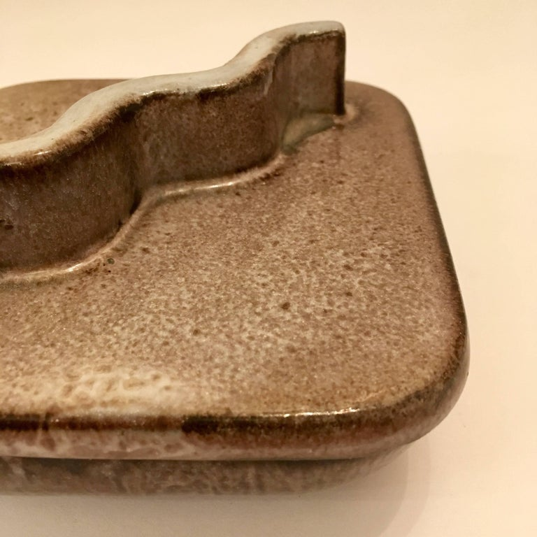 Mid-Century Modern Lee Rosen Design Technics 1960s Ceramic Box For Sale