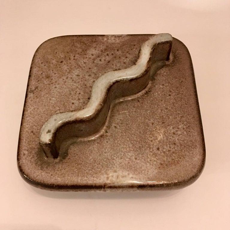 American Lee Rosen Design Technics 1960s Ceramic Box For Sale