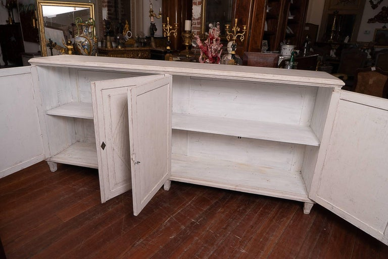 19th Century Swedish Enfilade In Good Condition For Sale In New Orleans, LA