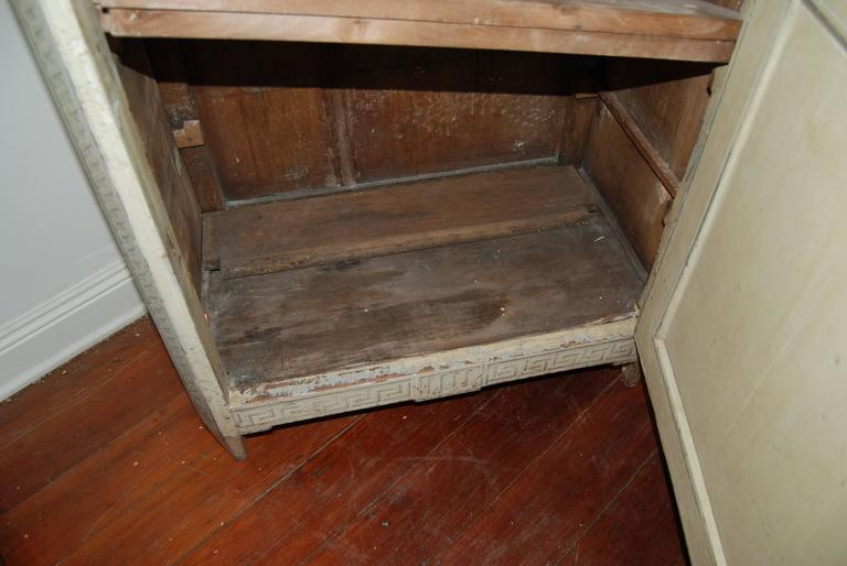19th Century Painted Confiture Cabinet For Sale 1