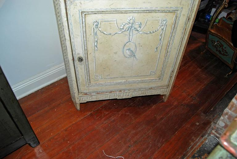 19th Century Painted Confiture Cabinet For Sale 2