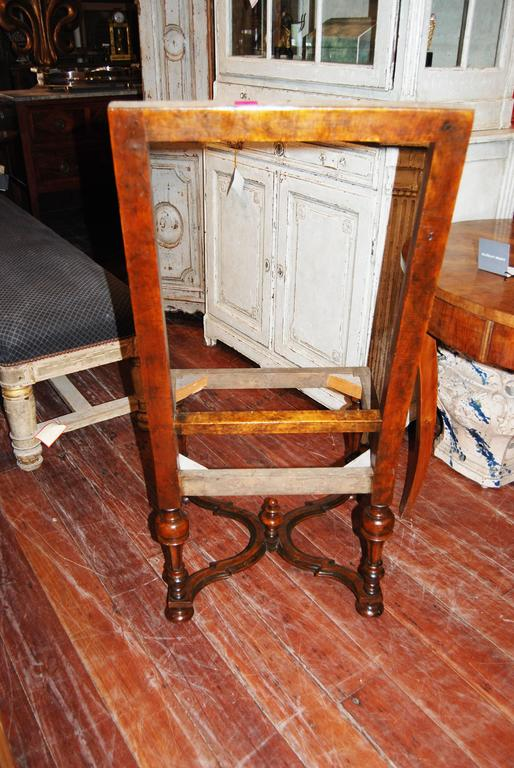 Set of Eight Louis XIV Walnut Chairs 6
