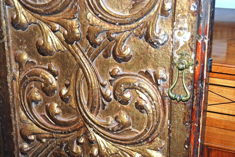 18th Century and Earlier 18th Century Giltwood Doors For Sale
