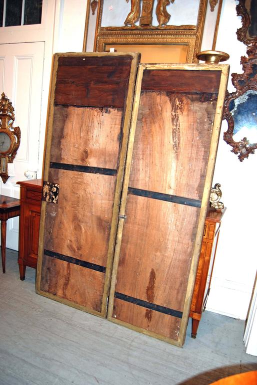 18th Century Giltwood Doors For Sale 3