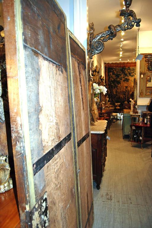 18th Century Giltwood Doors For Sale 4