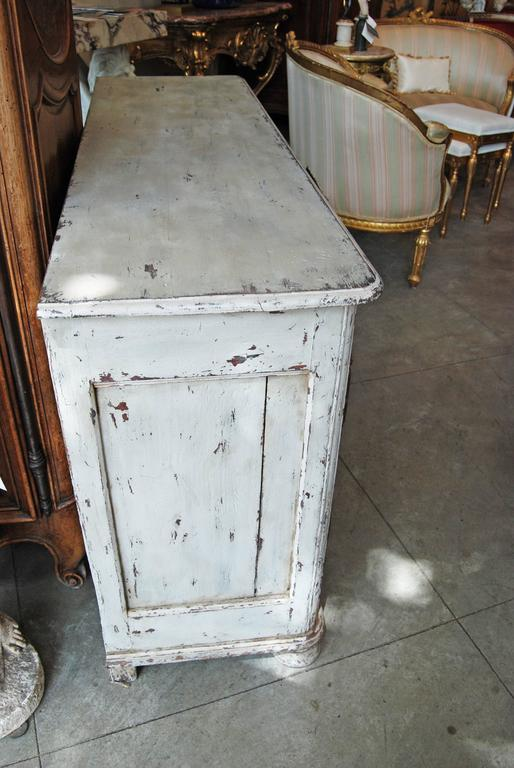 French Belle Epoch Petit Painted Enfilade For Sale