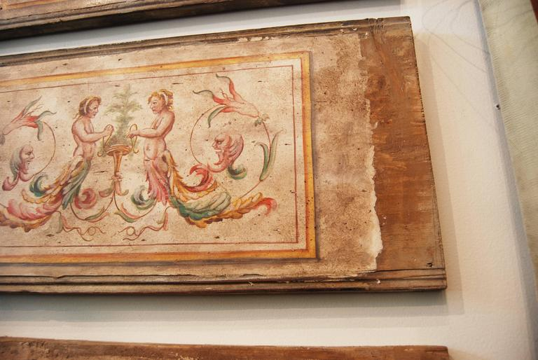 19th Century Painted Venetian Architectural Elements For Sale 1