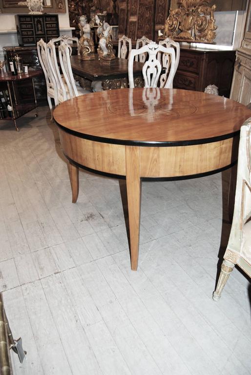 Exceptional Biedermeier Center Table 3