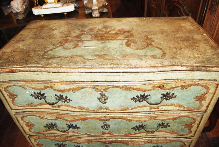 19th Century Painted Genovese Commode 2