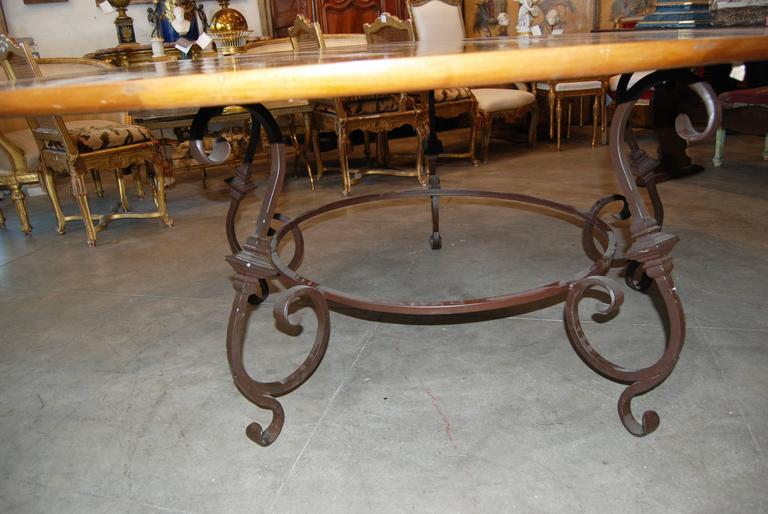 Fabulous Parquet De Versailles Oval Dining Table 5