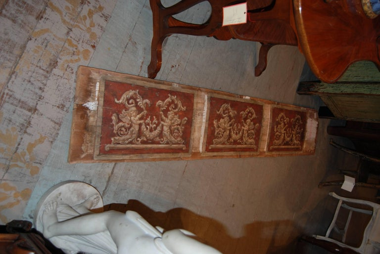 Set of Four 18th Century Architectural Venetian Boiserie Panels 2