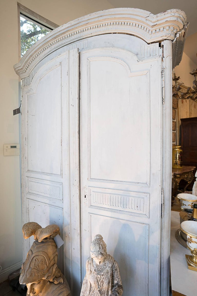 Period Louis XVl Painted Armoire 2