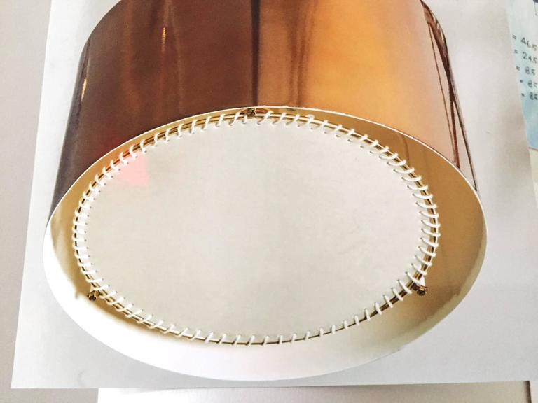 Enormous Ten-Light Ceiling Fixture Chandelier by Diego Mardegan  5
