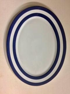 Ralph Lauren Home Oval Serving Platter in Cadet Spectator Pattern