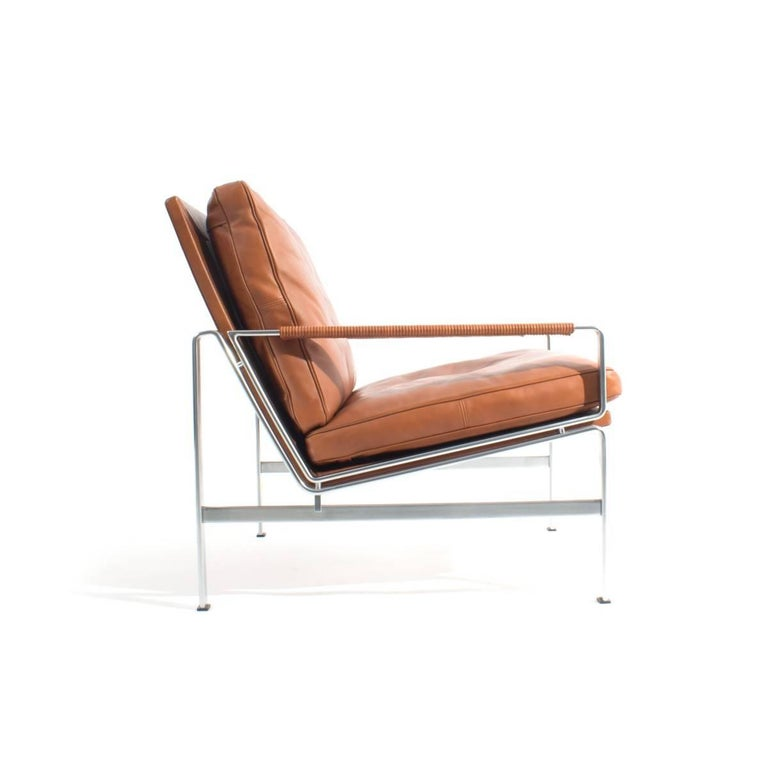 Pair of Lounge Chairs Preben Fabricius and Jorgen Kastholm In Excellent Condition For Sale In New York, NY