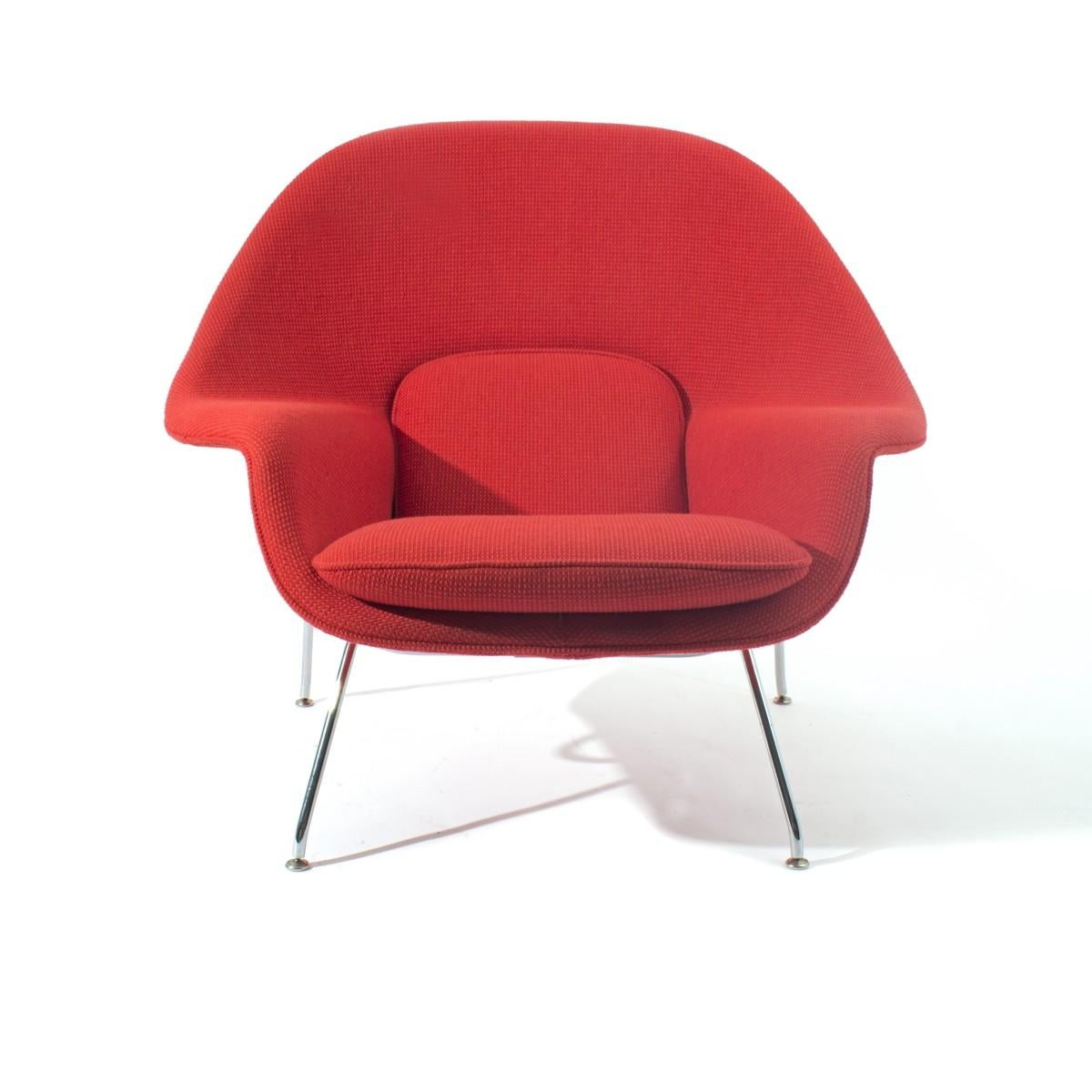 Vintage Womb Chair By Eero Saarinen For Knoll At 1stdibs