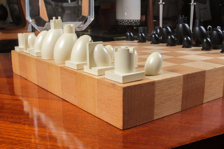 Modern Michael Graves Chess Set, circa 2000 For Sale