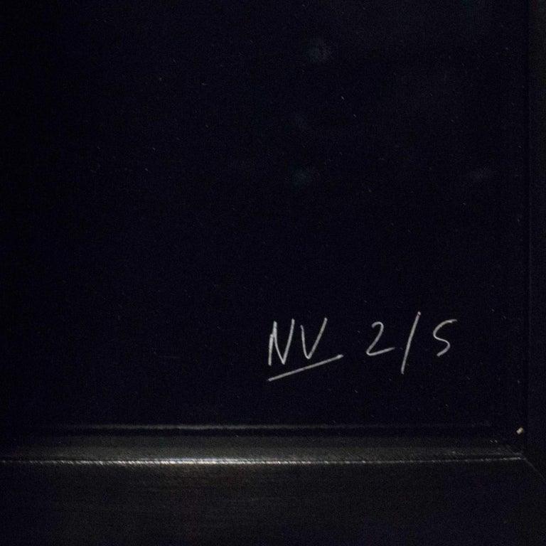 Minimalist NICK VEASEY Lanvin Dress, 2011 in Custom Frame For Sale