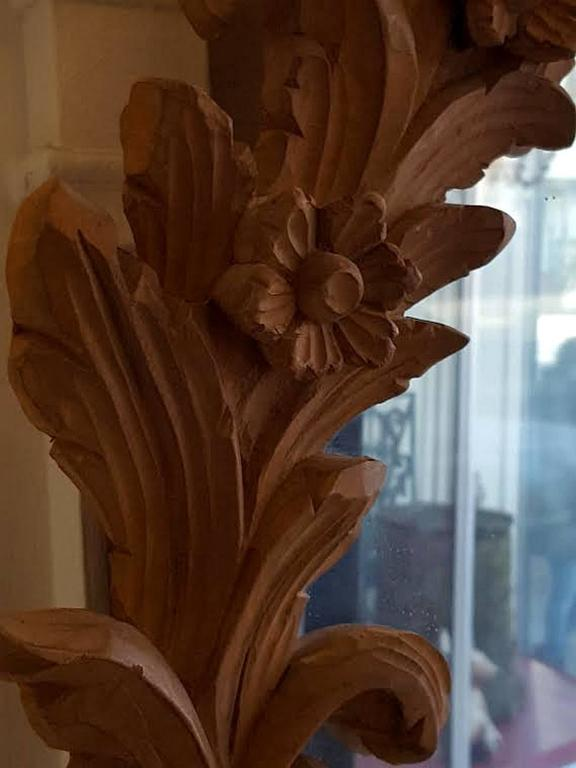Carved Wood Mirror 4