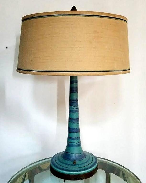 """Mid-Century Modern Rare Fong Chow """"Gulfstream"""" Lamp For Sale"""