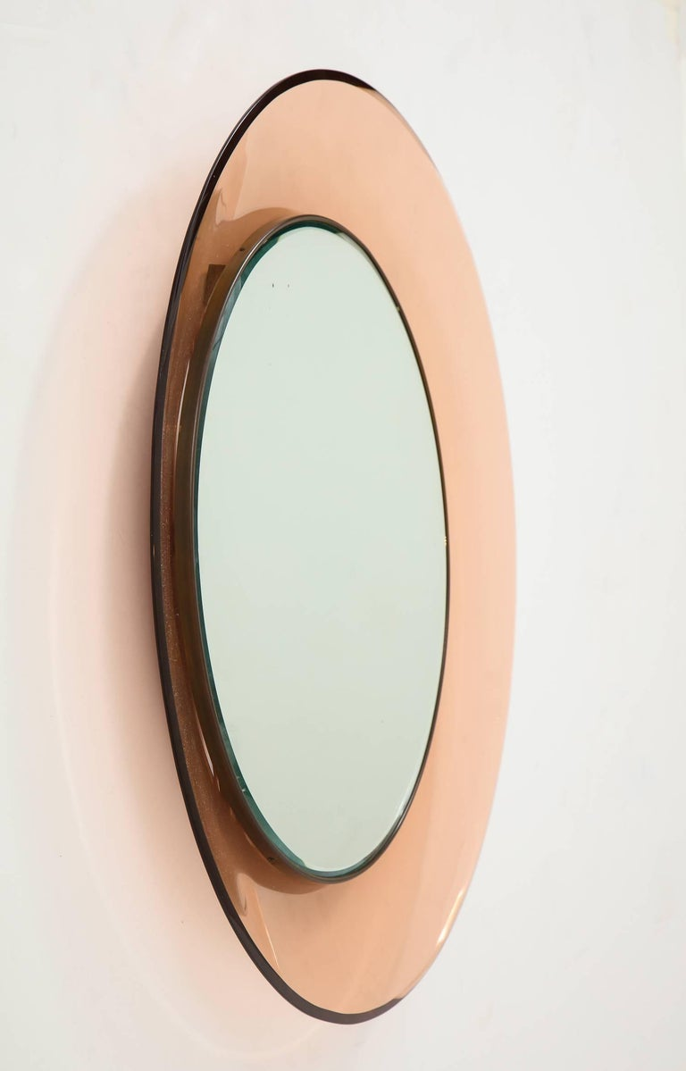 Mid-Century Modern Mirror by Max Ingrand for Fontana Arte For Sale