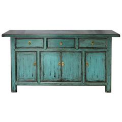 Blue or Green Sideboard