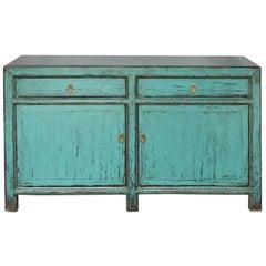 Turquoise Sideboard