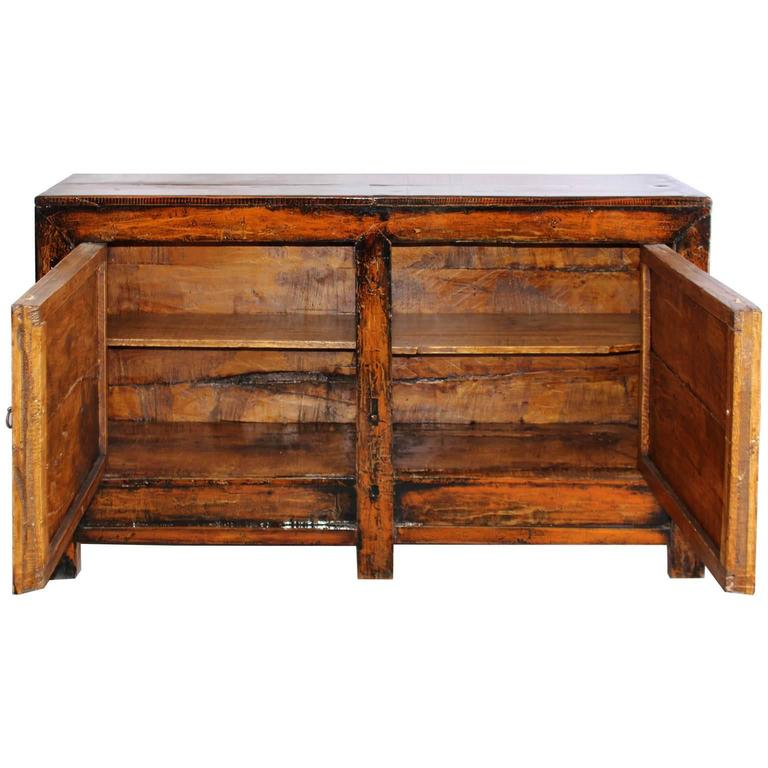 Two door orange sideboard for sale at 1stdibs for Sideboard orange