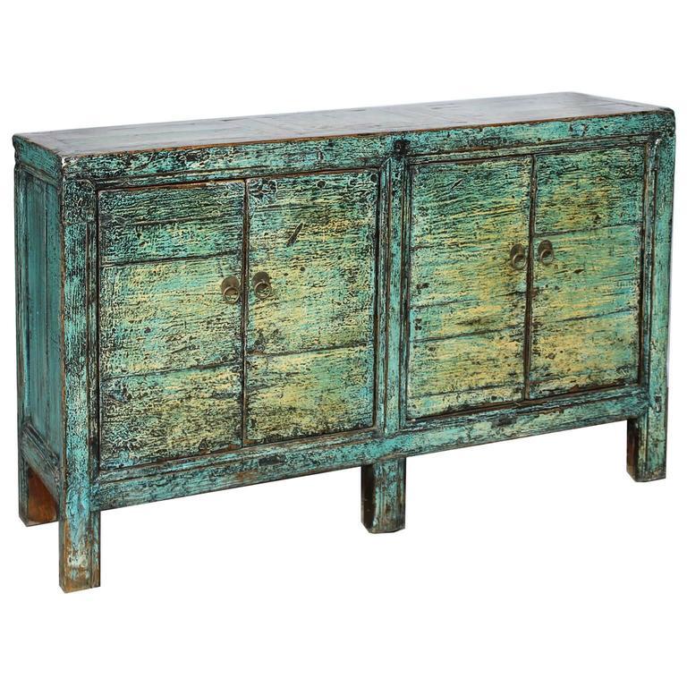 hand painted sideboard for sale at 1stdibs. Black Bedroom Furniture Sets. Home Design Ideas
