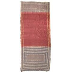 Magenta Silk Sari
