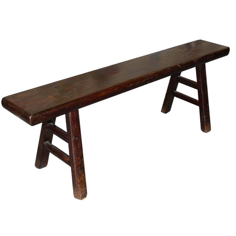 Shanxi Elm Bench For Sale