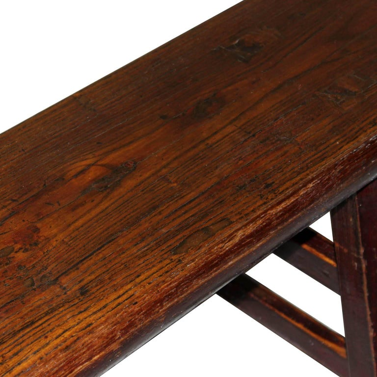 Shanxi Elm Bench In Good Condition For Sale In San Francisco, CA