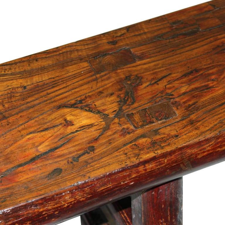 Chinese Shanxi Elm Bench For Sale