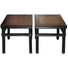 Rattan Top Ming Table