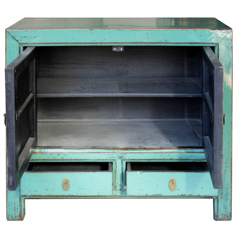 Turquoise Chest In Good Condition For Sale In San Francisco, CA