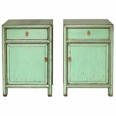 Mint Green Side Chest