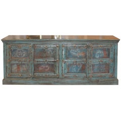 Blue Haveli Door Sideboard